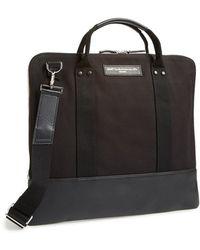 Want Les Essentiels De La Vie 'Heathrow' Canvas & Leather Commuter Bag - Lyst