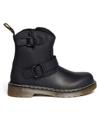 Dr. Martens 'Blip' Leather Kids Boots - Lyst