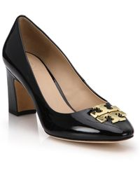 Tory Burch | Raleigh Patent Leather Pumps | Lyst
