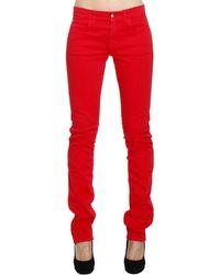 Ferragamo - Jeans Bull Color Stretch - Lyst