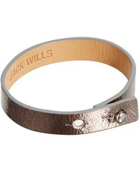 Jack Wills - Mabyn Wristband Bracelet - Lyst