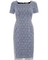 Nina Ricci Short-Sleeved Stretch-Lace Dress - Lyst
