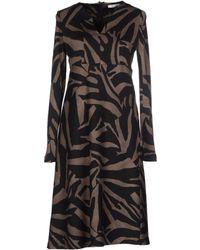 Max Mara Knee-length Dress - Lyst