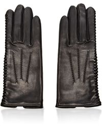 Nina Ricci | Laceddetail Leather Gloves | Lyst