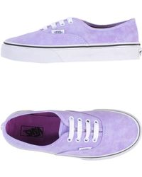 Vans Lowtops  Trainers - Lyst