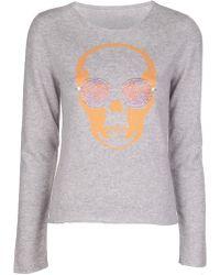 Lucien Pellat Finet - Skull Graphic Sweater - Lyst