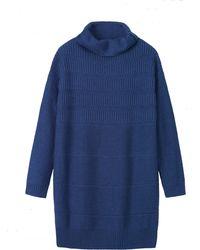 Toast - Rib Texture Merino Wool Tunic - Lyst