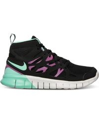 premium selection 001eb 57234 Nike - WomenS Free Run 2 Mid Sneakerboot From Finish Line - Lyst