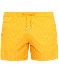 Make Your Odyssey - Lido 1 Fin-jacquard Swim Shorts - Lyst