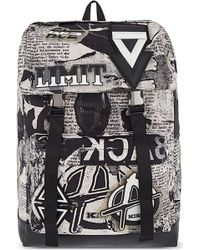 KTZ - Poet Printed Backpack - Lyst