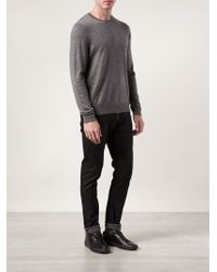 Rag & Bone Gray Emerson Sweater - Lyst