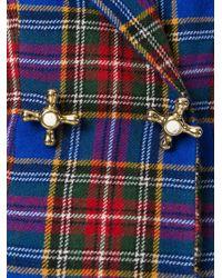 Moschino - Tartan Skirt Suit - Lyst