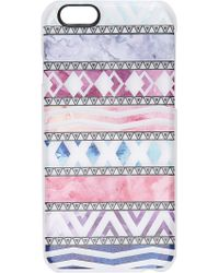 Casetify   Abstract Pattern Iphone 6 / 6s Case - Aztec   Lyst