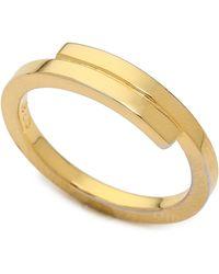 Kristen Elspeth Lightning Ring Gold - Metallic