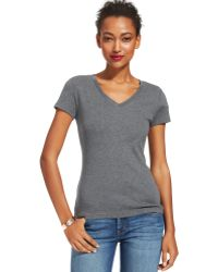 Tommy Hilfiger Short-sleeve V-neck Tee - Lyst