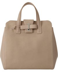 Delvaux Simplissime Tote - Lyst