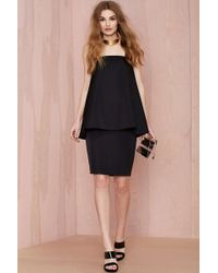 Nasty Gal Cameo The Acent Layered Dress - Lyst