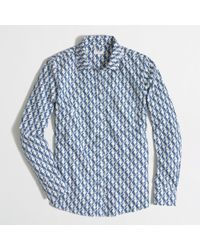 J.Crew Factory Patterned Oxford Buttondown Shirt - Lyst