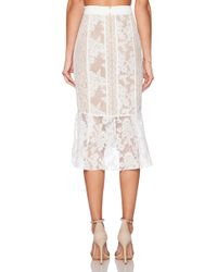 Three Floor - Ace Of Lace Skirt - Lyst