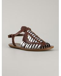 Proenza Schouler Woven Sandal - Lyst