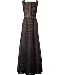 Elie Saab Fantasy Fabric Floorlength Gown - Lyst