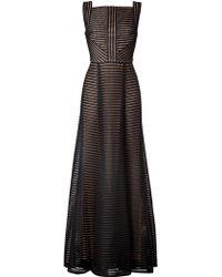 Elie Saab Fantasy Fabric Floor-Length Gown - Lyst