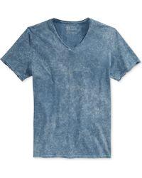 Guess Gunnarson Acid-Wash T-Shirt - Lyst