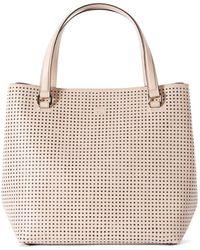 Karen Millen   Perforated Bucket Bag   Lyst