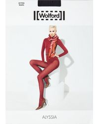 Wolford Green Alyssia Tights - Lyst