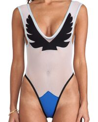 Minimale Animale - Firebird Suit in White - Lyst