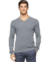 Calvin Klein | V-neck Sweater | Lyst
