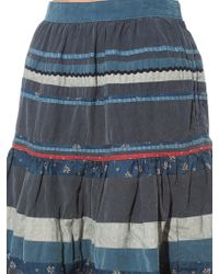 Visvim - Patchwork Corduroy Skirt - Lyst