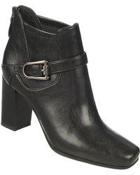 Franco Sarto Zengo High-Heel Boots black - Lyst