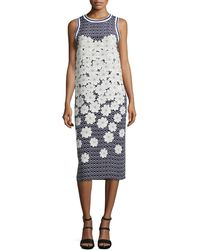 Mother Of Pearl Elia Silk Floral-Print Dress - Lyst