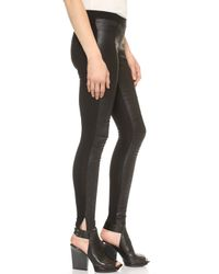 EVLEO - Motorcycle Leggings - Black - Lyst