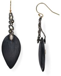 Alexis Bittar Lucite & Crystal Lace Drop Earrings - Lyst