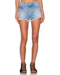 Ksubi Pretty Vegas Shorts blue - Lyst