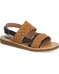 Dries Van Noten Woven Sandals - For Men - Lyst