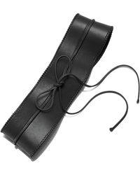 Lafayette 148 New York - Leather Obi Belt - Lyst