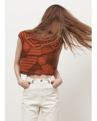 Rachel Comey | Red Shell Top | Lyst