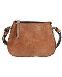Phase 3 - Faux Leather Crossbody Bag - Lyst