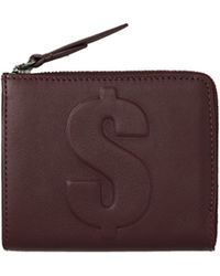 3.1 Phillip Lim - Mini Wallet In Bordeaux - Lyst