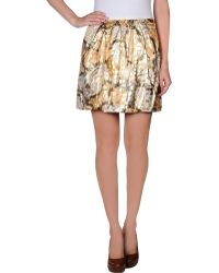 See By Chloé Multicolor Mini Skirt - Lyst