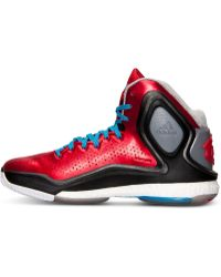 Adidas Mens D Rose 5 Boost Basketball Sneakers From Finish Line - Lyst