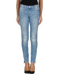 Ermanno Scervino Denim Pants - Lyst