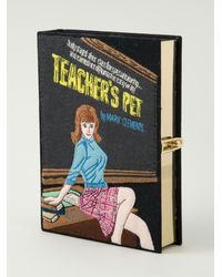 Olympia Le-Tan Teacher's Pet Clutch - Lyst