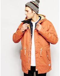 Clwr Parka With Insulation - Orange