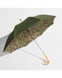 J.Crew Factory Camo Umbrella - Green