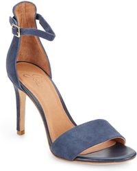 Joie Jaclyn Leather Ankle Strap Sandals - Lyst