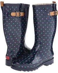 Chooka Classic Dot Rain Boot - Lyst
